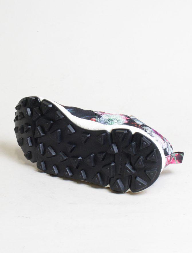 Flower Mountain sneakers Pampas woman Nylon Carnation Black dettaglio suola