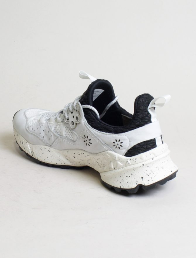 Flower Mountain sneakers Kotetsu Calf Nylon Comb bianco laterale