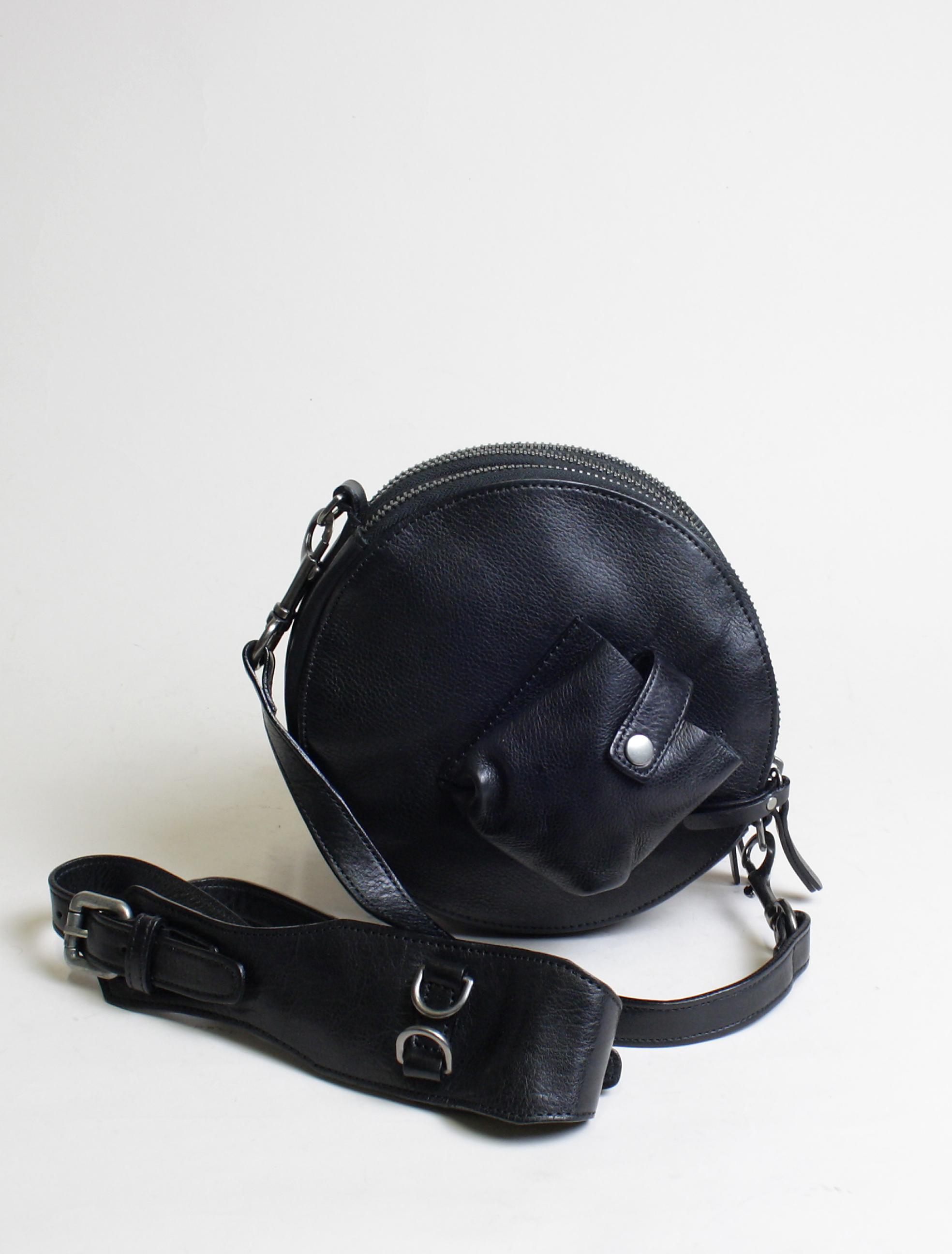 Re-Hard 5100 satchel round bag black