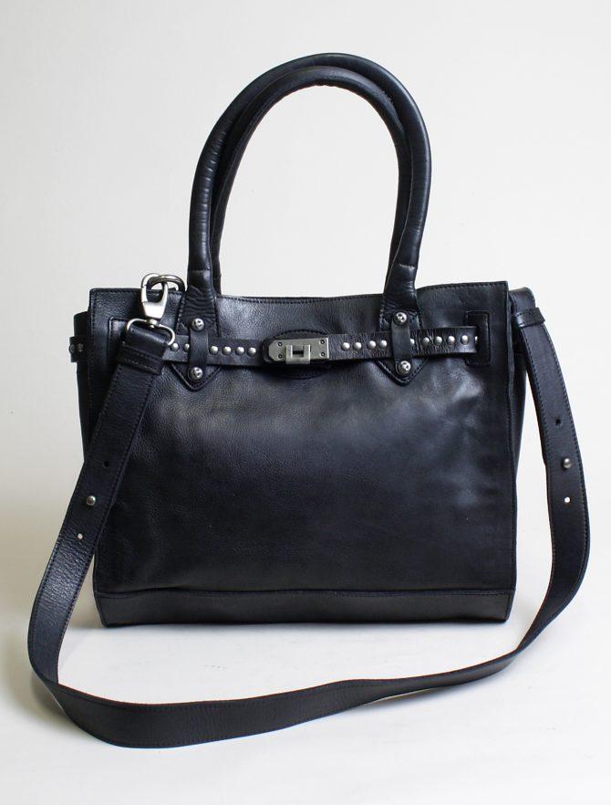 Re-Hard borsa 5504 shopping nero