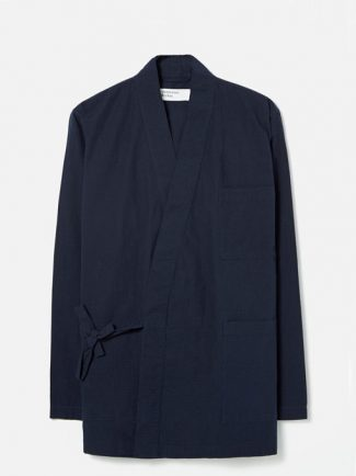 Universal Works Kyoto Work Jacket cotton ripstop Navy