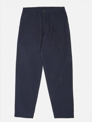 Universal Works Pleated Track Pant Ripstop Navy
