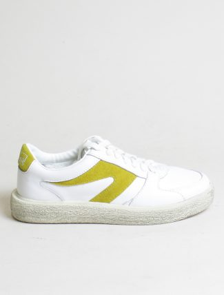 Walsh sneakers 18F042 White Yellow