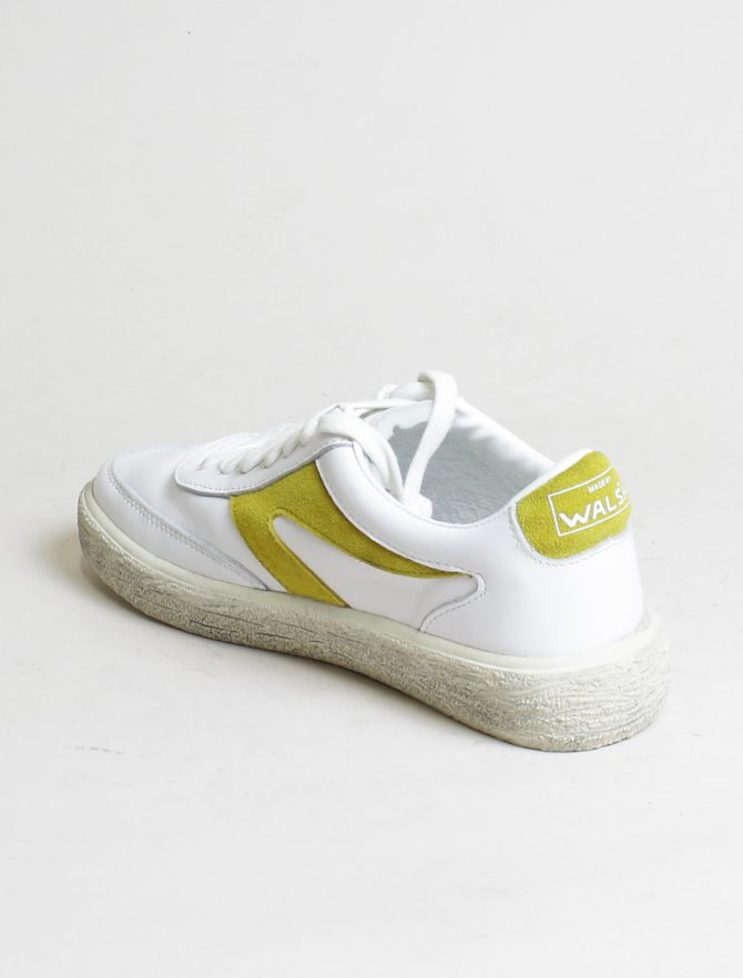 Walsh sneakers 18F042 White Yellow laterale