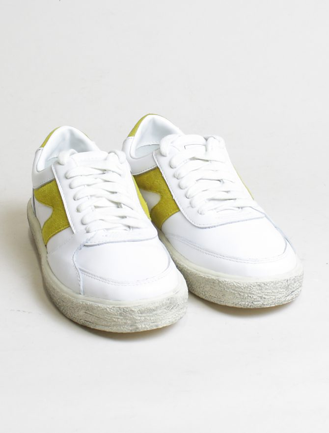 Walsh sneakers 18F042 White Yellow paio