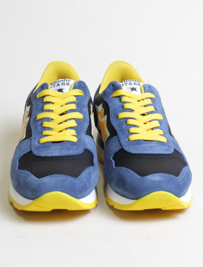Atlantic Stars sneakers Antares CNY12B nero paio