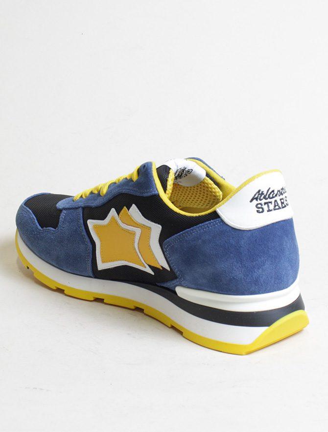 Atlantic Stars sneakers Antares CNY12B nero interno