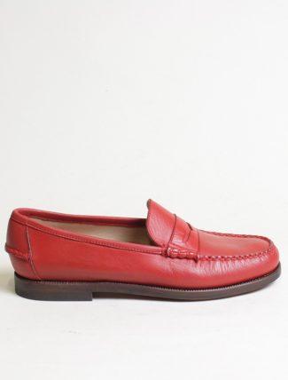 Sebago Classic Dan Moc Red