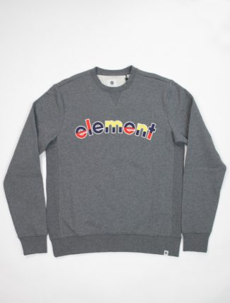 Element Rainbow Cr mid grey htr sweatshirt