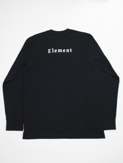 Element Sd Is Tee flint black retro