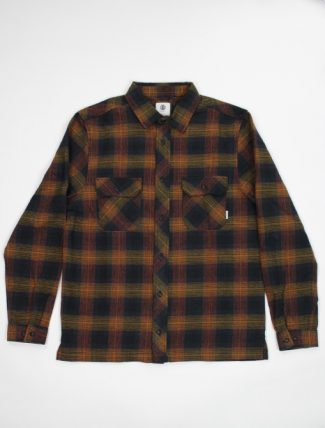 Element wentworth shadow gold brown shirt