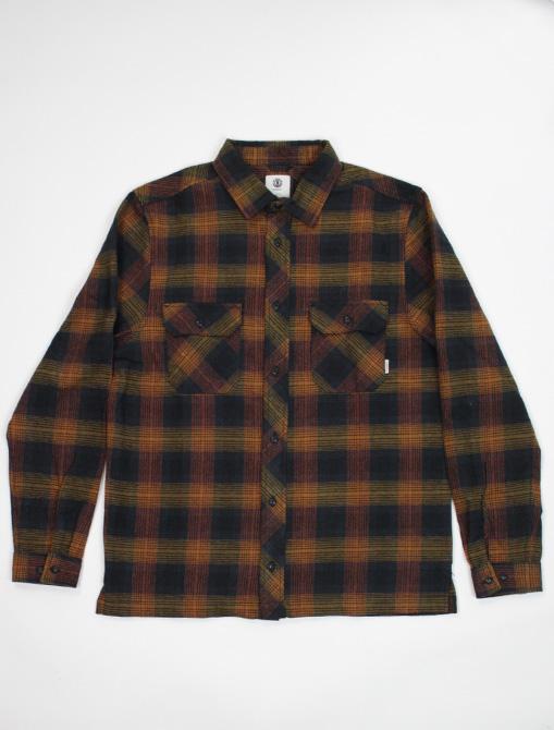 Element wentworth shadow gold brown shirt