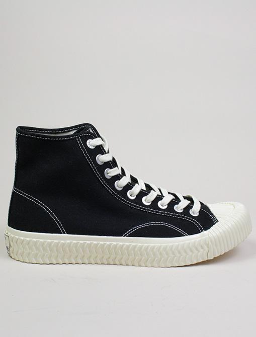 Excelsior Sneakers Bolt Hi Shoes rubber sole Black