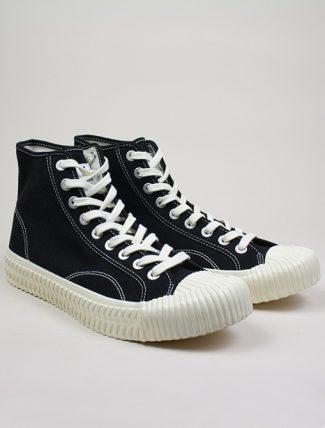 Excelsior Sneakers Bolt Hi Shoes rubber sole Black paio