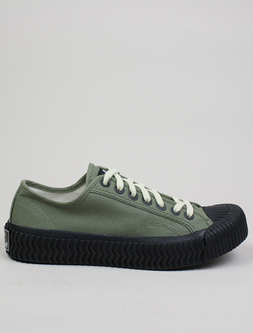 Excelsior Sneakers Bolt Lo Shoes Rubber Sole Khaki