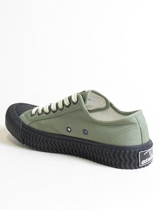 Excelsior Sneakers Bolt Lo Shoes Rubber Sole Khaki dettaglio interno