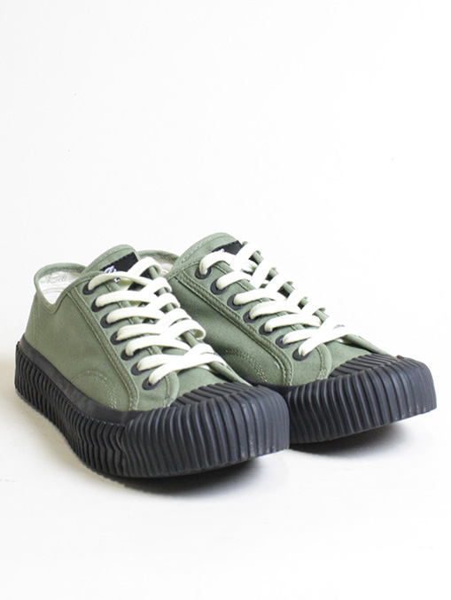 Excelsior Sneakers Bolt Lo Shoes Rubber Sole Khaki foto paio
