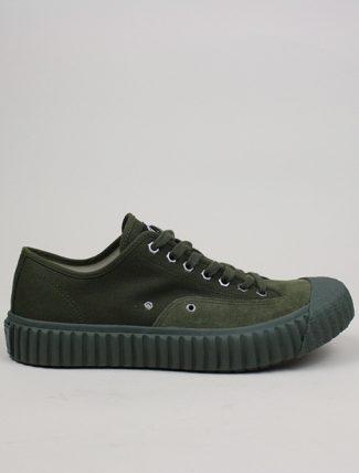 Excelsior Sneakers Workman Lo Shoes Rubber Sole Khaki