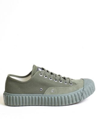 Excelsior Sneakers Workman Lo Shoes Rubber Sole Khaki