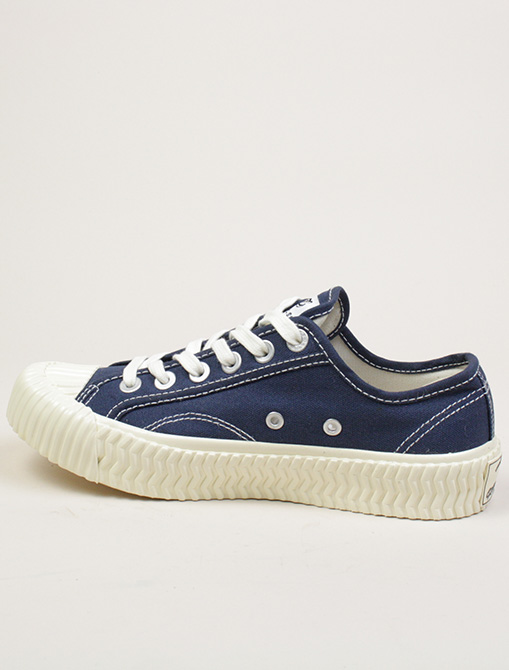 Excelsior Sneakers Bolt Lo Shoes Rubber Sole Navy dettaglio laterale