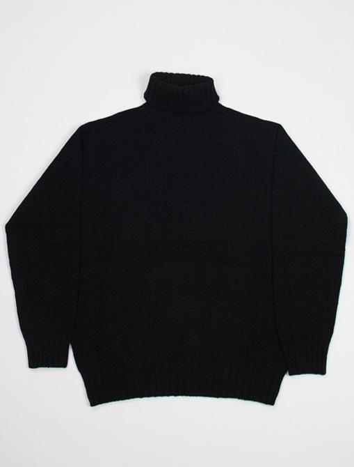Harley of Scotland turtleneck sweater L38745 Black