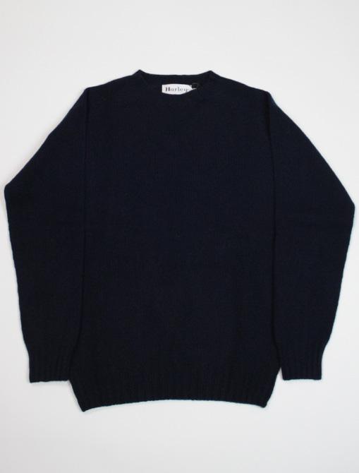 Harley of Scotland Sweater M22837 Nero Navy