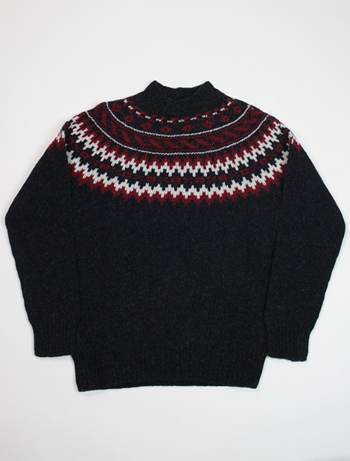 Harley of Scotland Sweater M35897 Charcoal