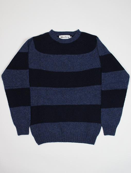 Harley of Scotland Sweater M36307 Denim Navy
