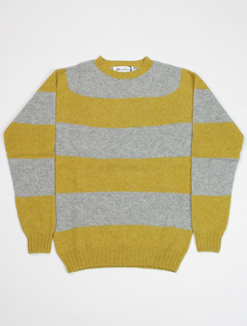 Harley of Scotland Sweater M36307 Nugget Silver
