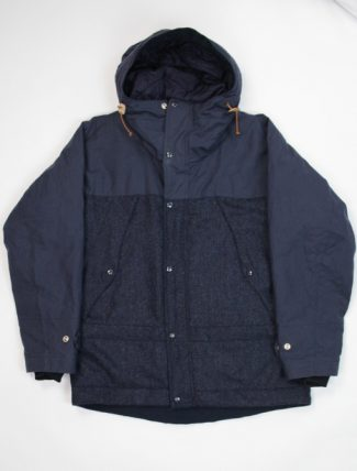 Manifattura Ceccarelli Two Tone Mountain Jacket Navy