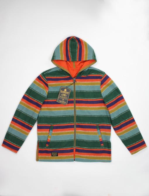 Nigel Cabourn x Element Alder Blanket Fleece Multicolor versione 2
