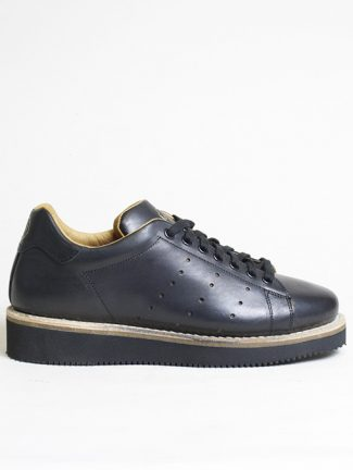 Original Grade Match Point Black Calf Leather