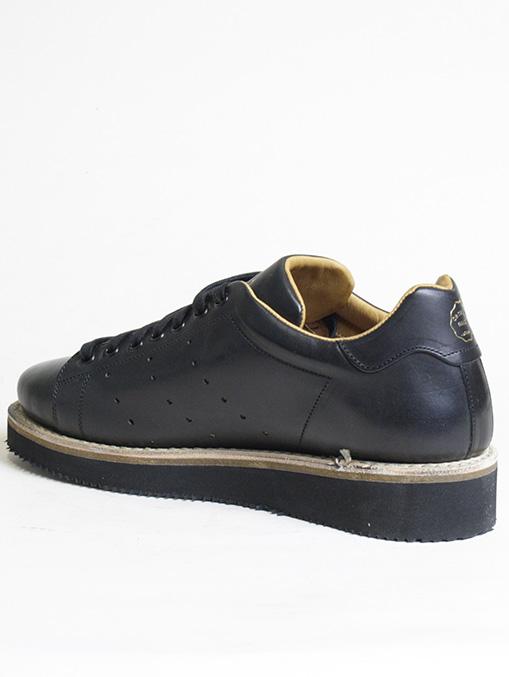 Original Grade Match Point Black Calf Leather dettaglio interno