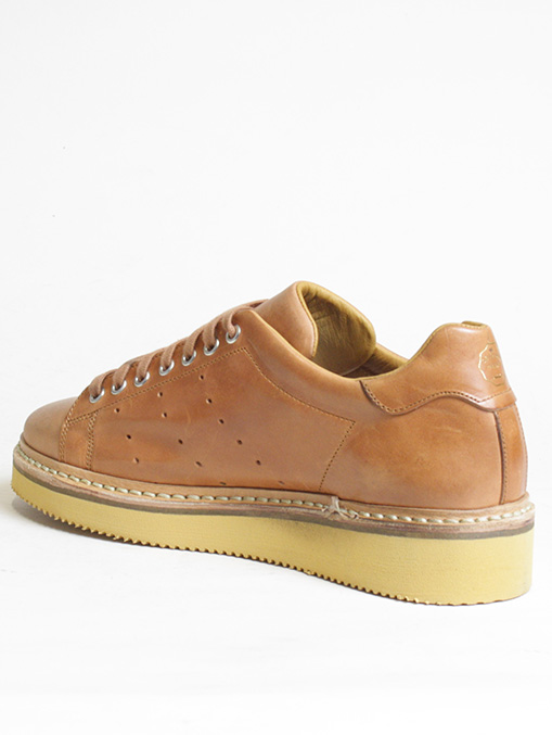 Original Grade Match Point Burnt Leather dettaglio laterale