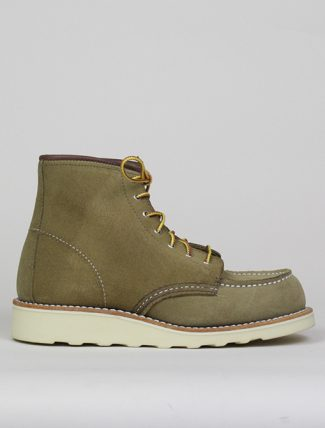 Red Wing 3377 Moc Toe Olive Mohave Leather