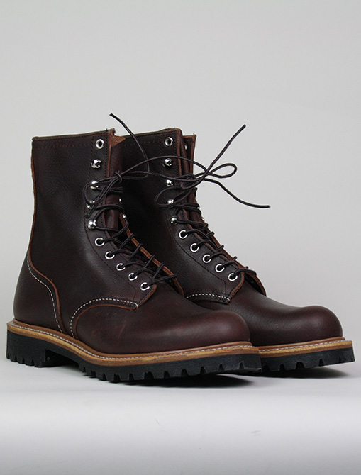 Red Wing 4585 Logger Boot Briar Oil Silk paio