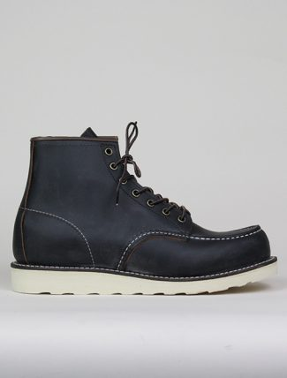 Red Wing Moc Toe 8849 Black Prairie
