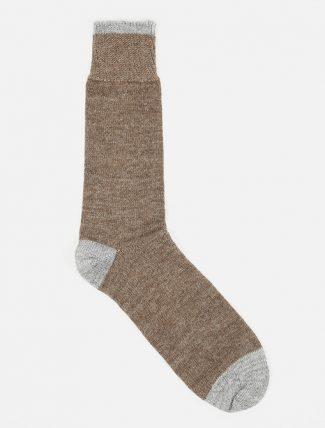 Universal Works Alpaca Sock Brown