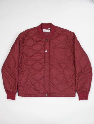 Universal Works Carlton Jacket Nylon Claret