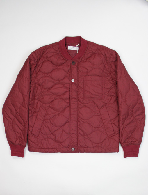 Universal Works Carlton Jacket Nylon Claret