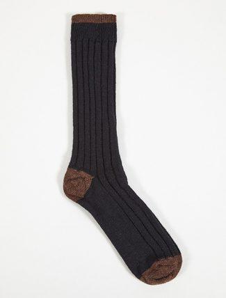 Universal Works Hike Sock Wool Navy
