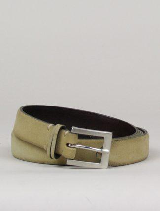 Post & Co pr13 cappuccino suede belt