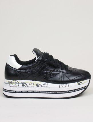 Premiata sneakers Beth 4202 piumino nero