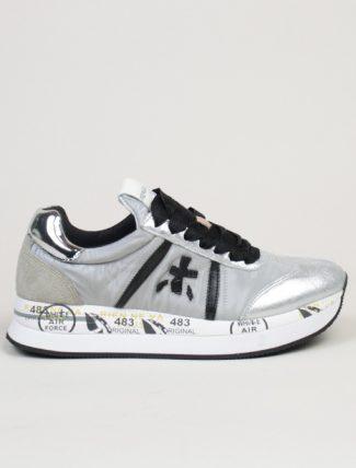 Premiata sneakers Conny 4270 grigio argento