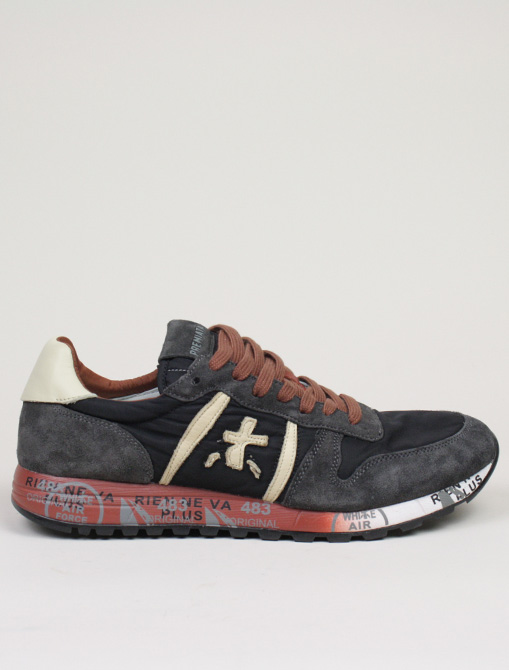 Premiata sneakers Eric 3288 nero ruggine