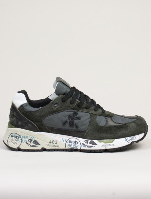 Premiata sneakers Mase 4005 Verde antracite