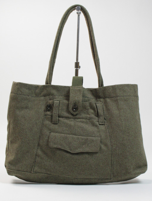 Fantasie Cucite No War bag military wool