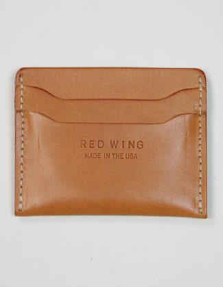 Red Wing 95027 Card Holder Natural Tan