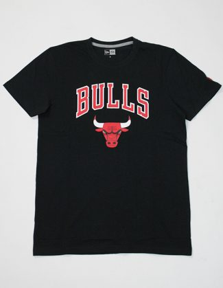 New Era Team Logo Tee Chi Bul Black