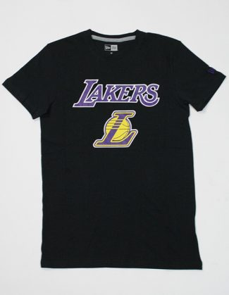 New Era Team Logo Tee Los Lak Black